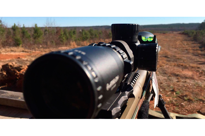 "Chris takes Ares BTR from 100 to 1,000 Yards! ""The Scope Tracks Nicely"""