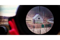 A LOOK THROUGH THE RETICLE OF THE ARES BTR RIFLE SCOPE